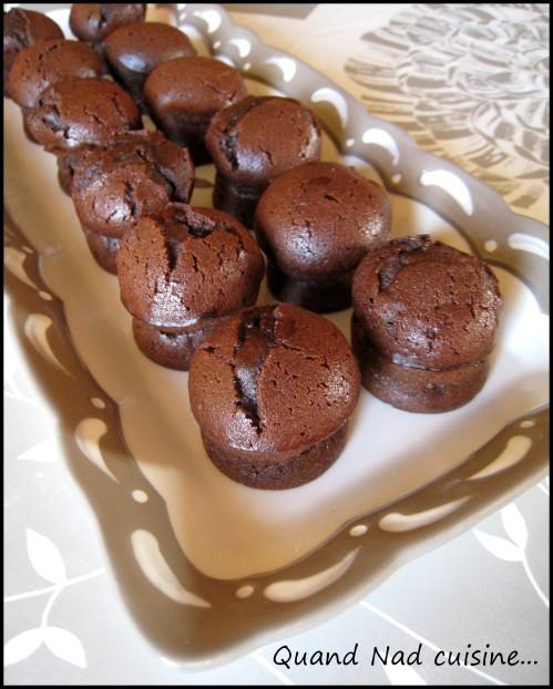 fondant au chocolat 10 min