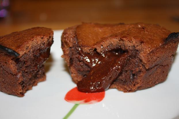 fondant au chocolat 2 pers