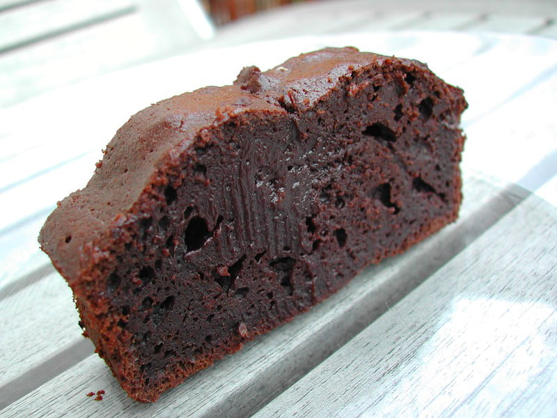 fondant au chocolat 40g de farine
