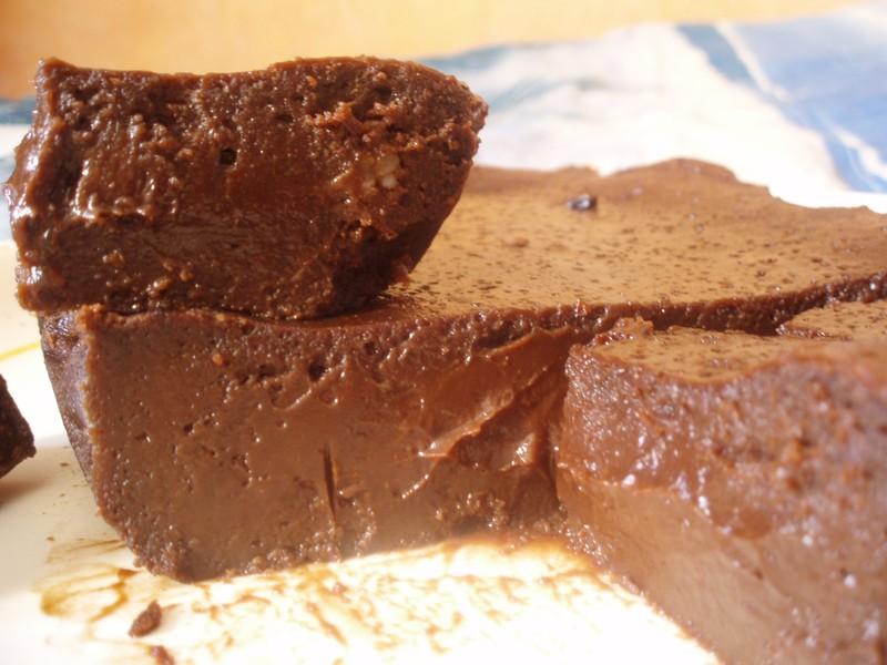fondant au chocolat 50g de beurre