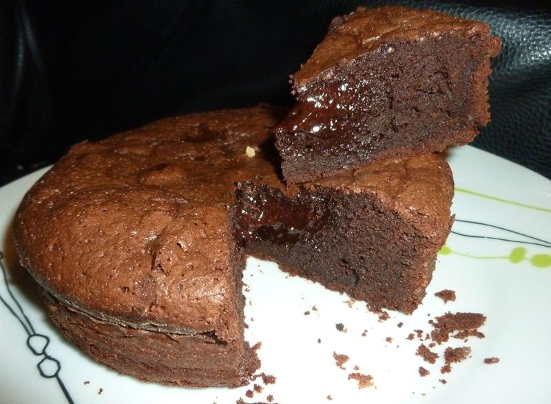 fondant au chocolat 8 personnes