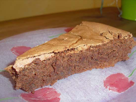 fondant au chocolat a la poudre d'amande