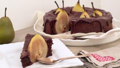fondant au chocolat amande