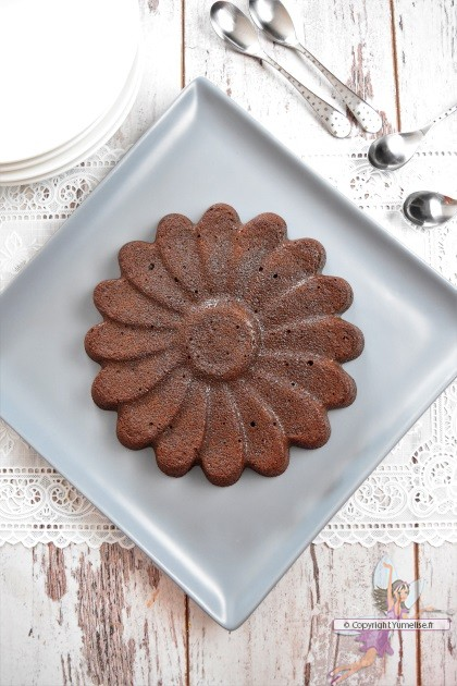 fondant au chocolat avec 3 jaunes d'oeufs