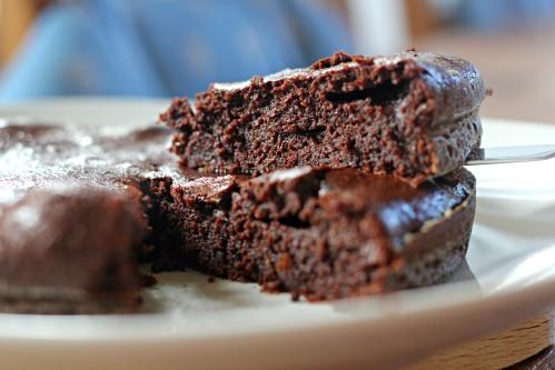 fondant au chocolat epais