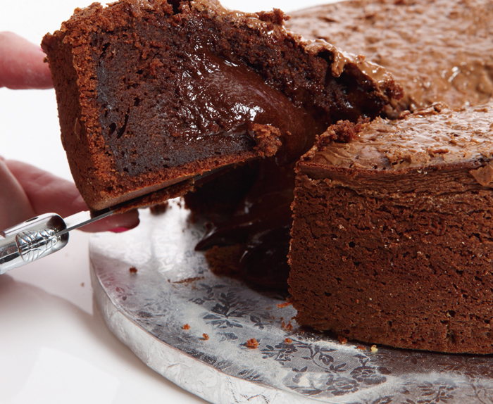 fondant au chocolat grand moule