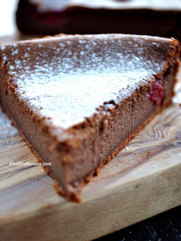 fondant au chocolat healthy sans oeuf