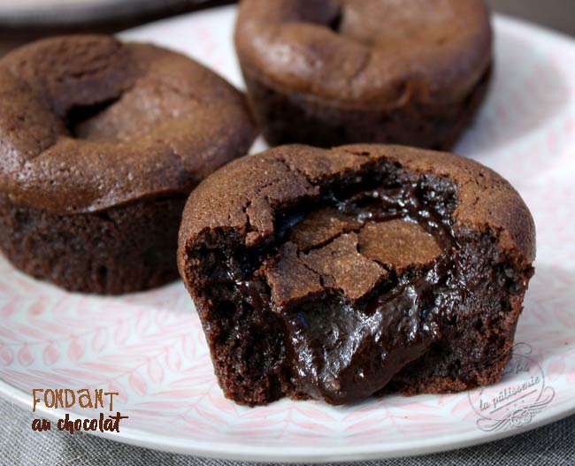 fondant au chocolat industriel
