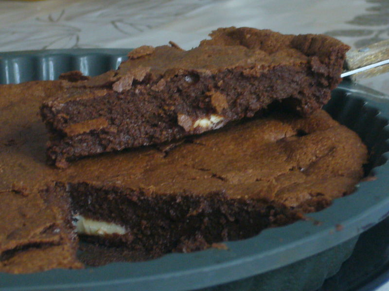 fondant au chocolat kinder