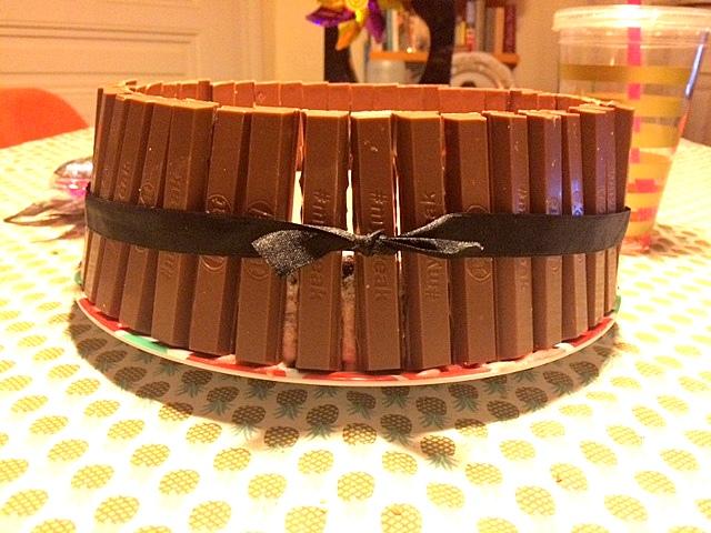 fondant au chocolat kit kat