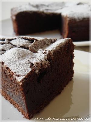fondant au chocolat levure chimique