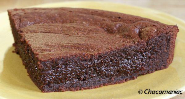 fondant au chocolat mi cuit