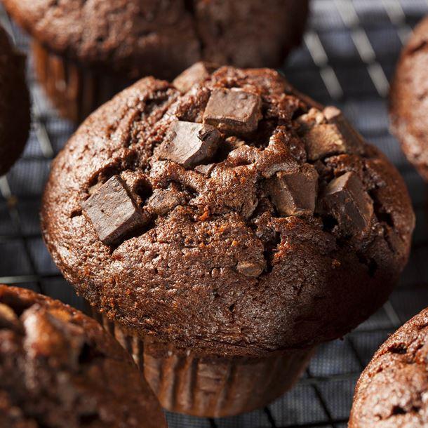 fondant au chocolat muffin