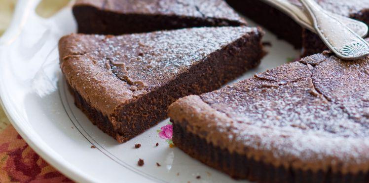 fondant au chocolat noir sans beurre