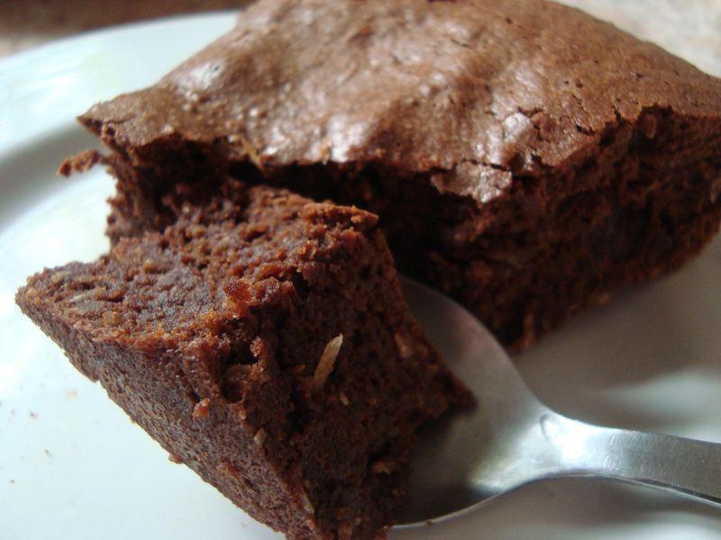 fondant au chocolat noix