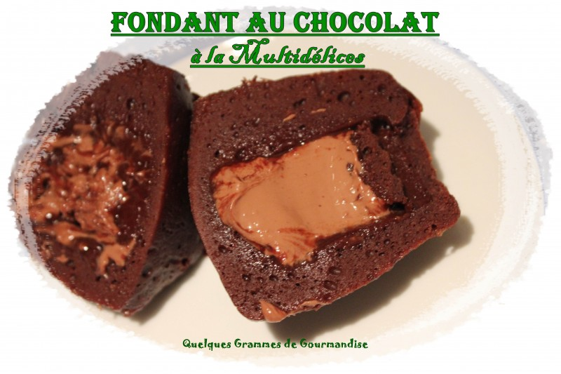 fondant au chocolat o delice