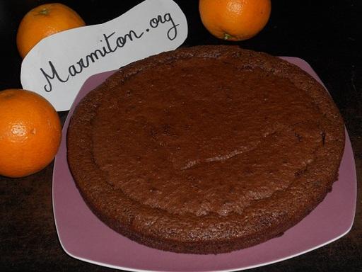 fondant au chocolat orange
