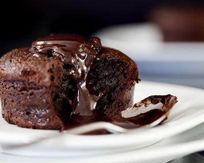 fondant au chocolat pour 6