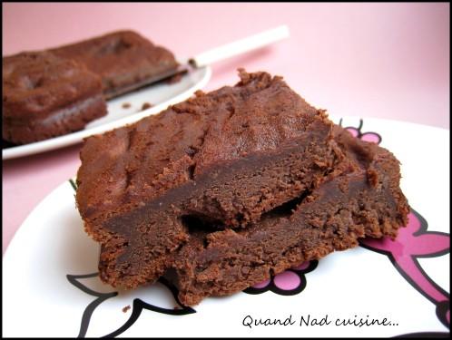 fondant au chocolat quand nad cuisine