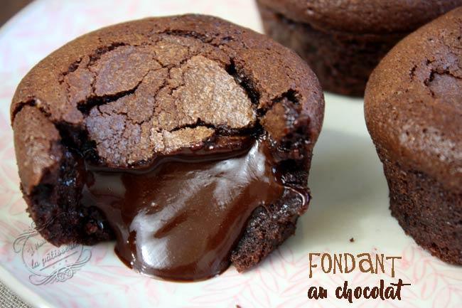 fondant au chocolat vegan simple