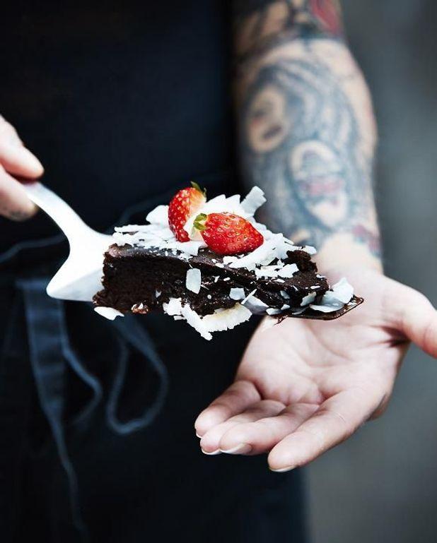 fondant au chocolat vegan