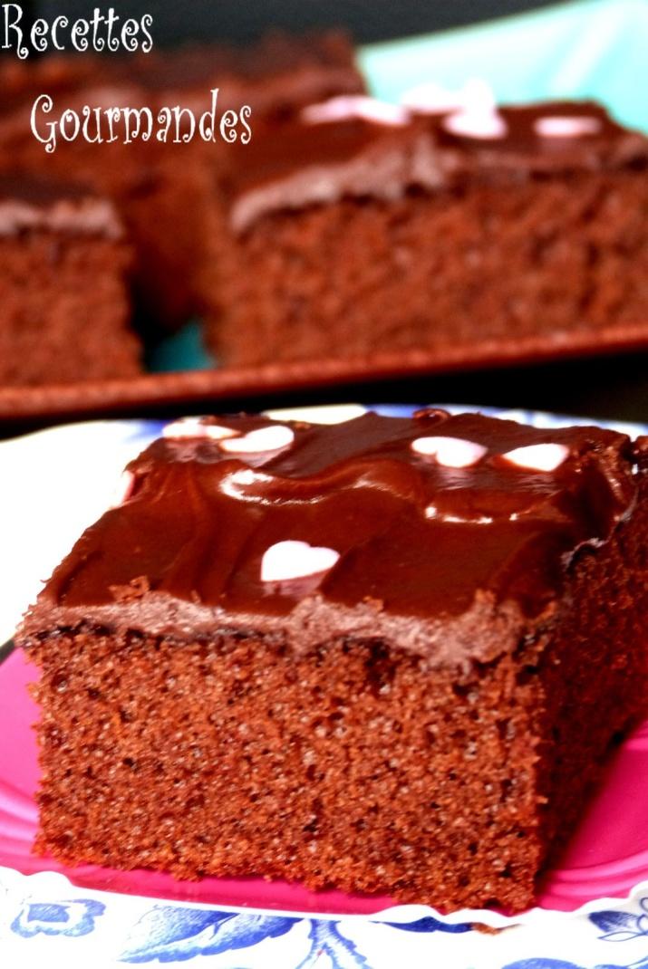 gateau au chocolat 100