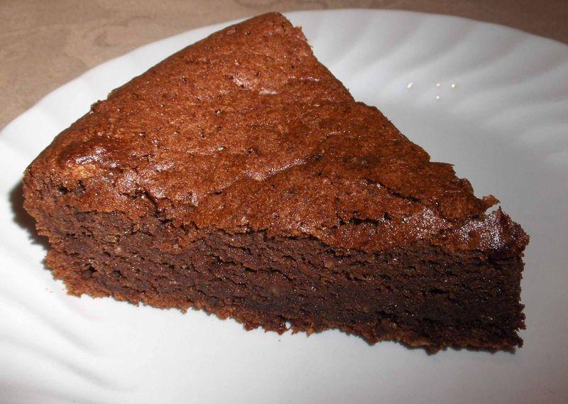 gateau au chocolat 100g beurre
