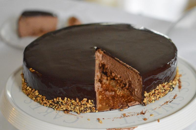 gateau au chocolat 75g de farine
