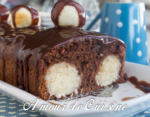 gateau au chocolat a la noix de coco