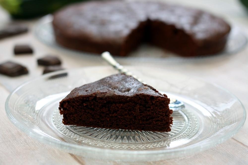 gateau au chocolat avec courgette