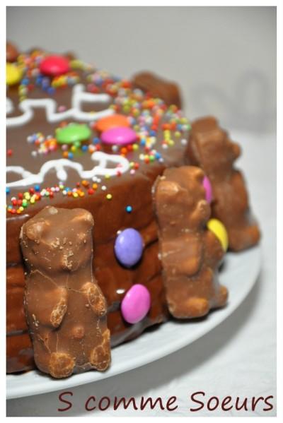 gateau au chocolat bonbon
