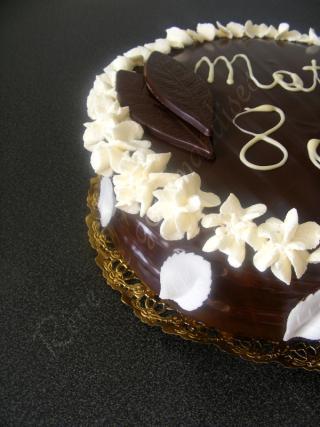 gateau au chocolat chantilly