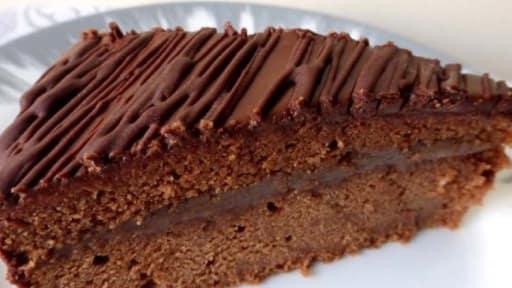 gateau au chocolat creme de marron