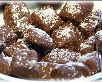 gateau au chocolat de noel