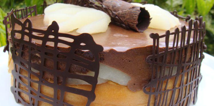 gateau au chocolat genoise