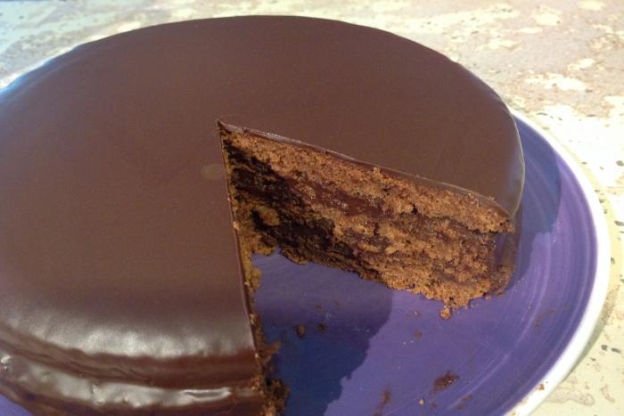 gateau au chocolat glacage