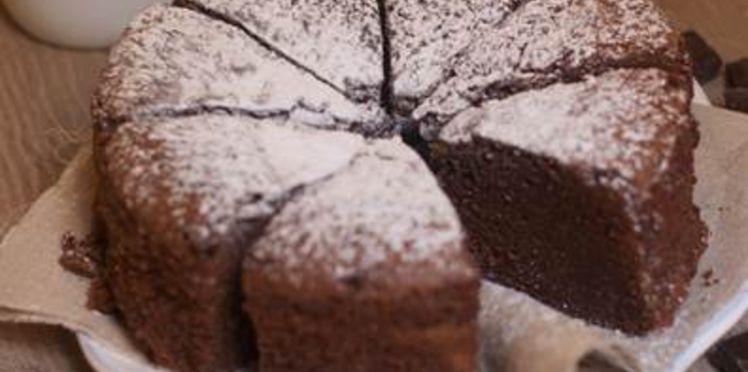 gateau au chocolat grand