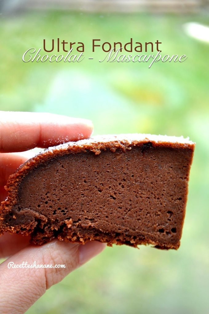 gateau au chocolat hanane