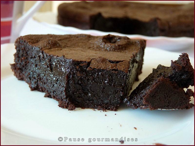 gateau au chocolat hyper fondant