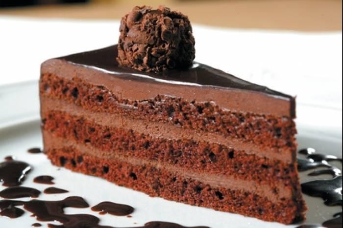 gateau au chocolat joli