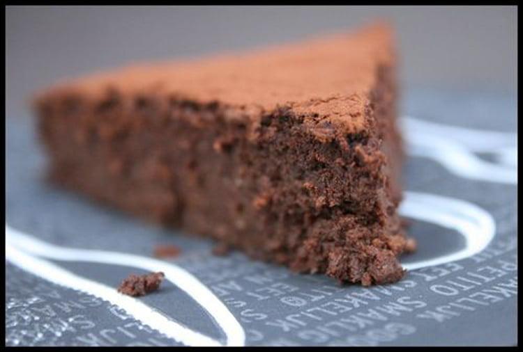gateau au chocolat jus de pois chiche