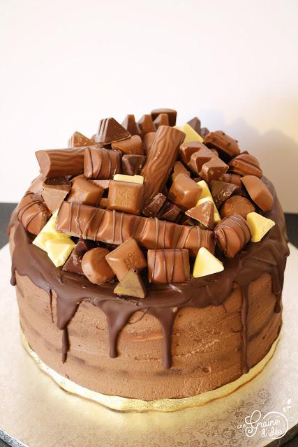 Gateau Au Chocolat Kinder Anniversaire Les Desserts Au Chocolat