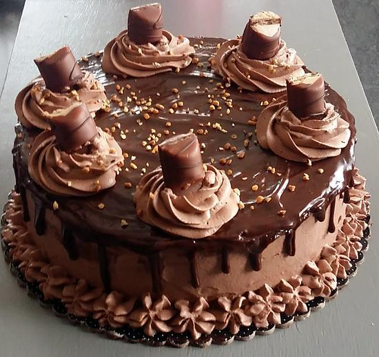 gateau au chocolat kinder delice