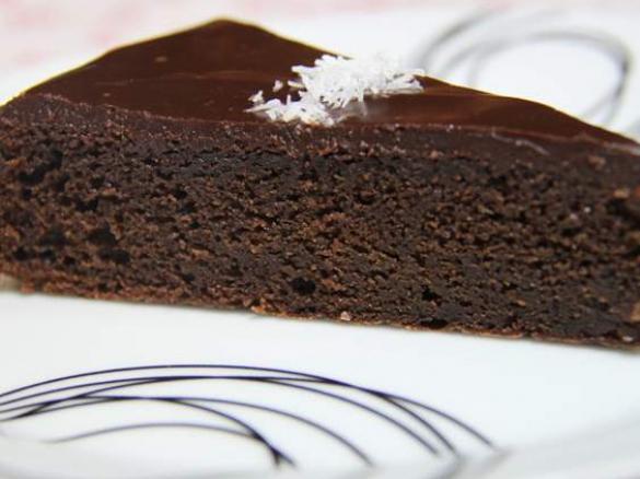 gateau au chocolat nappage