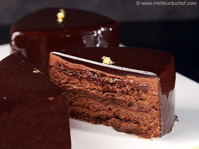 gateau au chocolat patissier