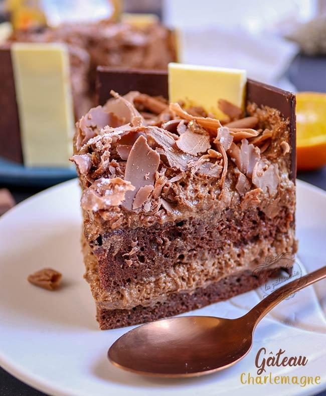 gateau au chocolat praline