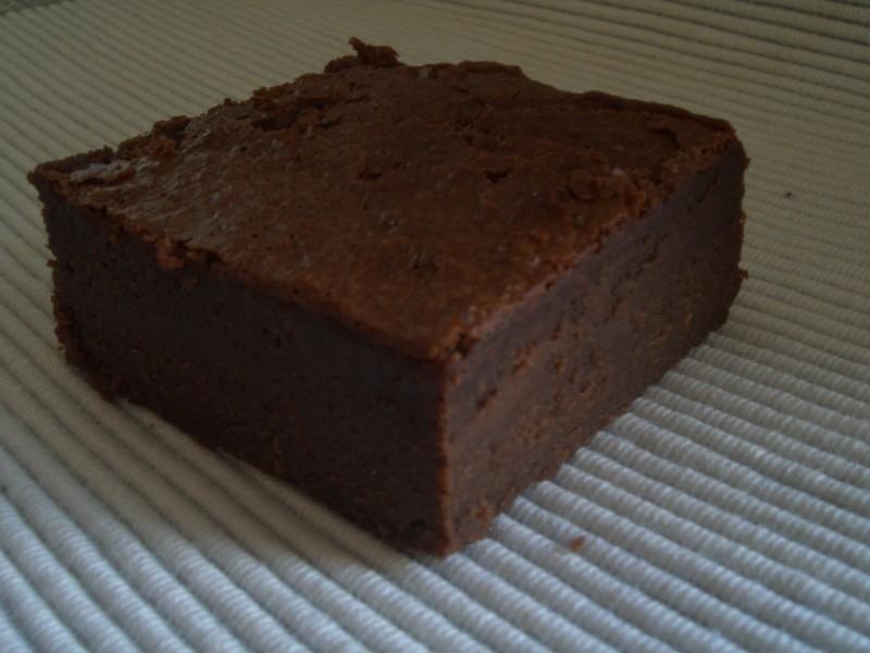 gateau au chocolat qui dechire