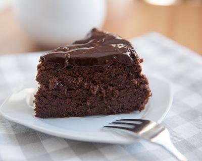 gateau au chocolat sans beurre et sans sucre