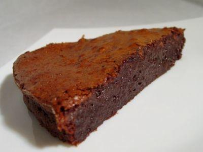 gateau au chocolat sans farine