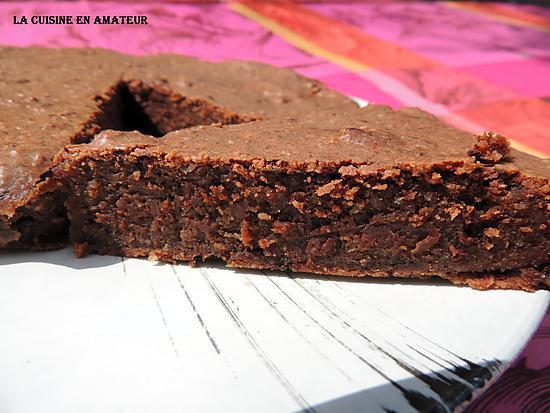 gateau au chocolat sans oeuf et sans farine